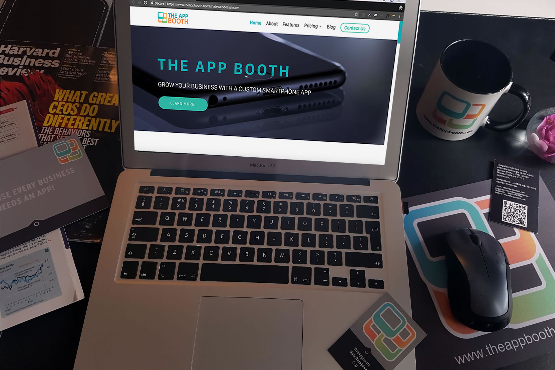 The App Booth! We build high quality affordable mobile apps!
